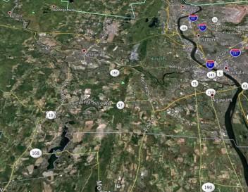 Westfield Ma Map